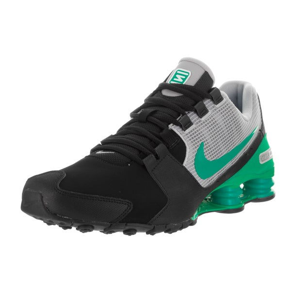 fc2ceda4e02651 Nike Men  x27 s Shox Avenue Ltr Black Synthetic-leather Running Shoes