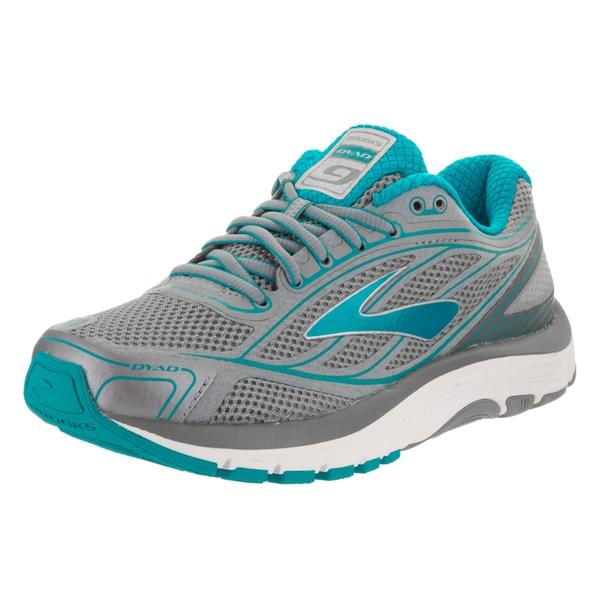 8d35920ec5d Shop Brooks Women s Dyad 9 Grey Synthetic Leather Running Shoe ...