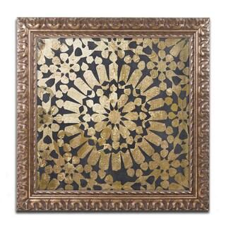 Color Bakery 'Moroccan Gold III' Ornate Framed Art
