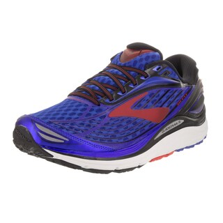 Brooks Men's Transcend 4 Blue Synthetic Leather Running Shoe