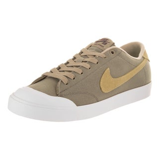 Nike Men's Zoom All Court Ck Brown Canvas Skate Shoes