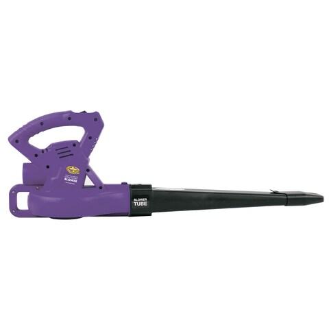 Sun Joe All-Purpose 2-Speed Electric Blower (Purple) - Factory Refurbished