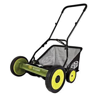 Sun Joe 20-Inch Manual Reel Mower w/ Grass Catcher - Factory Refurbished