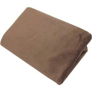 American Baby Company Heavenly Soft Chocolate Chenille Porta-crib Sheet
