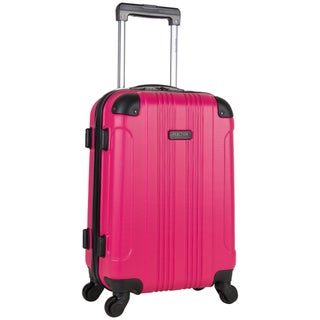 Kenneth Cole Reaction Out of Bounds 20-inch Molded Hardside 4-wheel Spinner Upright Carry-on Luggage (Option: magenta)