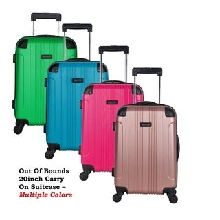 Kenneth Cole Reaction Out of Bounds 20-inch Molded Hardside 4-wheel Spinner Upright Carry-on Luggage (More options available)