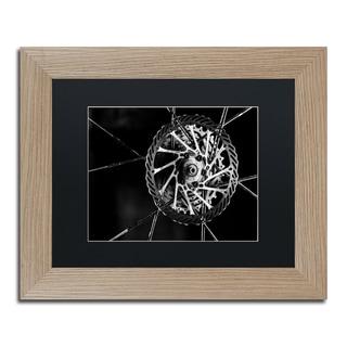 Jason Shaffer 'Bike Parts' Matted Framed Art