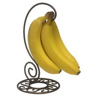 Home Basics Scroll Collection Steel Banana Tree