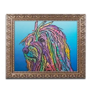 Dean Russo 'Scarlett' Ornate Framed Art