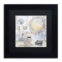 Color Bakery 'Beach House II' Matted Framed Art - Off-White