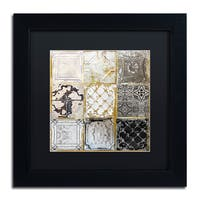 Color Bakery 'Tintypes' Matted Framed Art