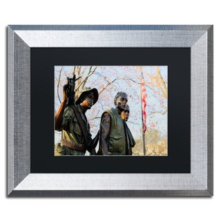 CATeyes 'Vietnam Memorial' Matted Framed Art