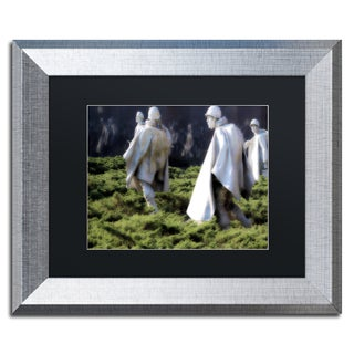 CATeyes 'Korea War Memorial' Matted Framed Art
