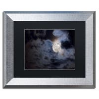 Jason Shaffer 'Supermoon ' Matted Framed Art