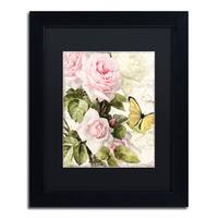 Color Bakery 'Flora Bella' Matted Framed Art - Multi
