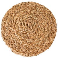Caravan Round Braided Natural Placemats (Set of 4)