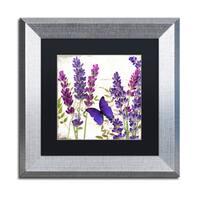 Color Bakery 'Lavender I' Matted Framed Art