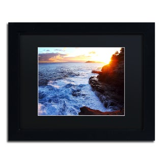 Jason Shaffer 'Hawaii 4' Matted Framed Art