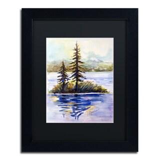 Wendra 'Island Light' Matted Framed Art
