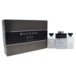 Bvlgari Man Extreme Men's 3-piece Gift Set