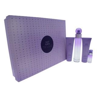 Perry Ellis 360 Purple Women's 4-piece Gift Set