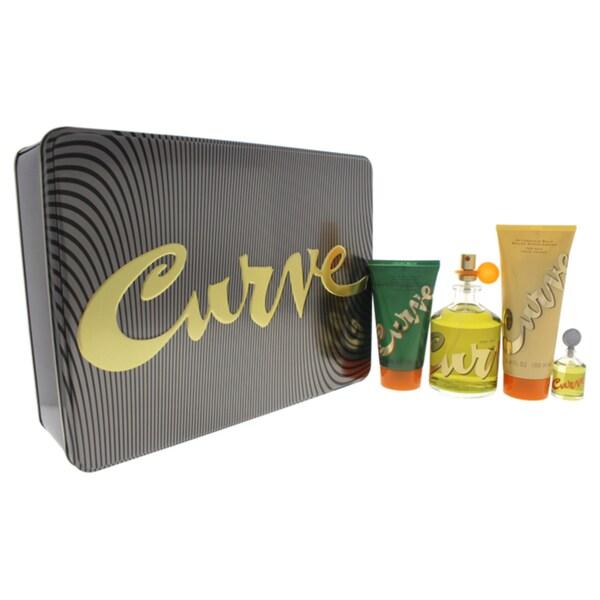Liz Claiborne Curve Men's 4-piece Gift Set