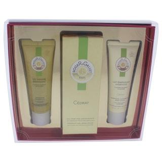 Roger & Gallet Cedrat Unisex 3-piece Gift Set