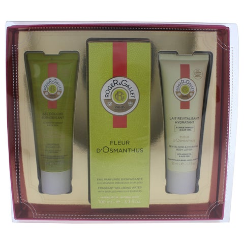 Roger & Gallet Fleur d'Osmanthus Women's 3-piece Gift Set