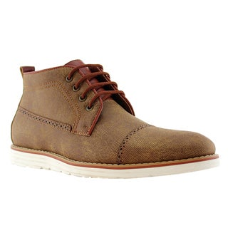 Ferro Aldo AF33 Men's Perforated Round Toe Work Dress Sneaker Shoes