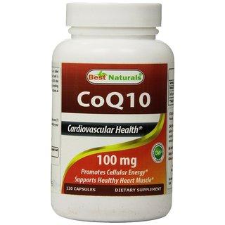 Best Naturals COQ10 100mg (120 Capsules)