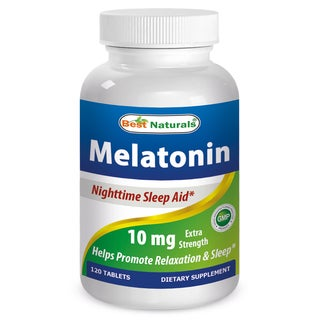 Best Naturals Melatonin 10mg Sleep Aid (120 Tablets)