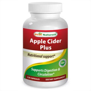 Best Naturals Apple Cider Vinegar Plus 500mg (120 Capsules)|https://ak1.ostkcdn.com/images/products/14749962/P21275941.jpg?impolicy=medium