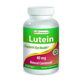 Best Naturals Lutein 40mg (60 Softgels)