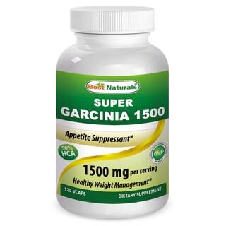 Best Naturals Garcinia 1500mg (120 Vcaps)