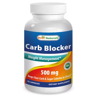 Best Naturals Carb Blocker with White Kidney Bean Extract (90 Capsules)