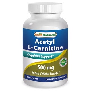 Best Naturals Acetyl L-Carnitine 500mg (120 Capsules)