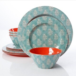 Gibson Solina 12 Pc. Melamine Dinnerware Set