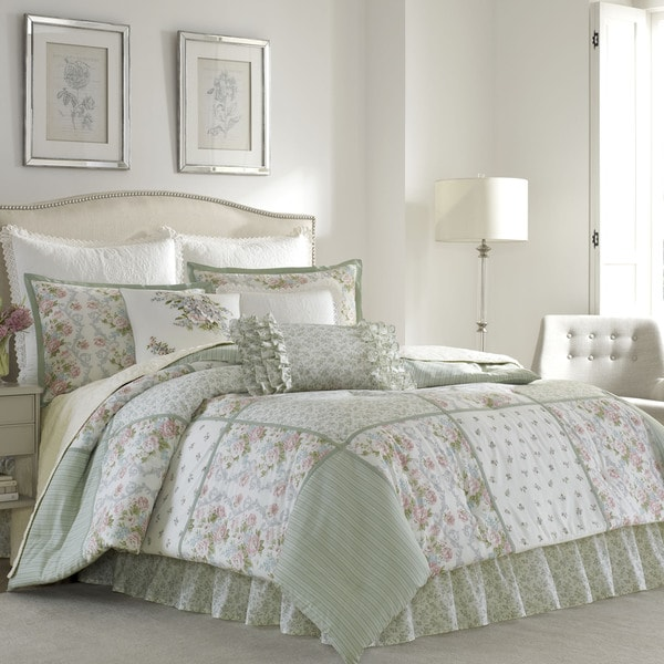 Laura Ashley Harper Comforter Set Free Shipping Today - Laura ashley bedroom