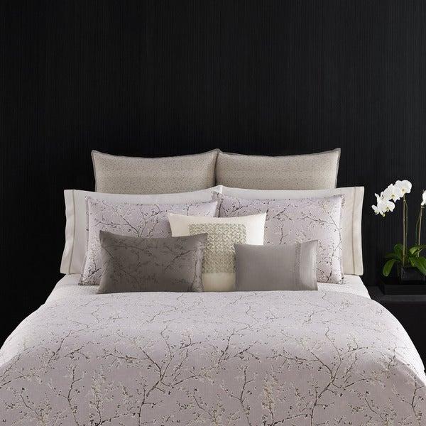 Vera Wang Home Winter Blossoms Duvet Cover - Lavender
