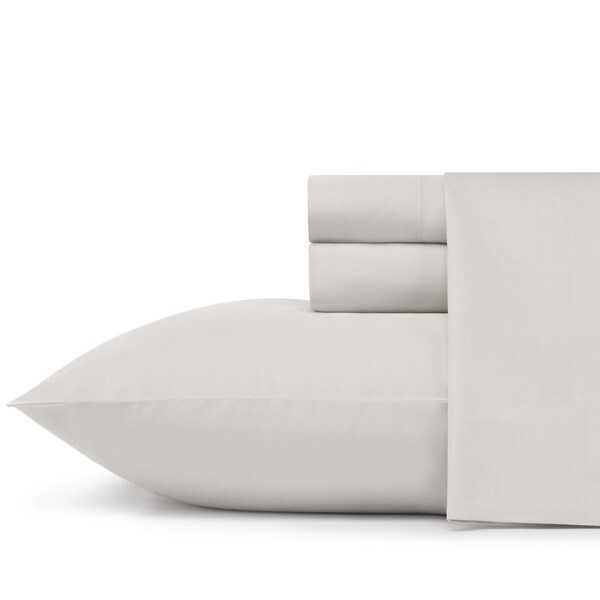 Manor Hill Solid Taupe Sheet Set