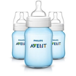 Philips Avent Blue Anti-colic 9-ounce Baby Bottle (Pack of 3)