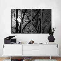 Ready2HangArt Indoor/Outdoor 4 Piece Wall Art Set (32 x 48) 'Day & Night' in ArtPlexi by NXN Designs - Grey - 32 x 48