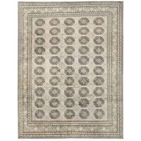 Handmade Herat Oriental Afghan Vegetable Dye Turkoman Wool Rug (Afghanistan) - 9'9 x 12'4