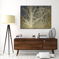 Ready2HangArt Indoor/Outdoor Wall Decor 'Antiquated Grain II' in ArtPlexi by NXN Designs - White