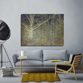 Ready2HangArt Indoor/Outdoor Wall Decor 'Antiquated Grain' in ArtPlexi by NXN Designs - Grey