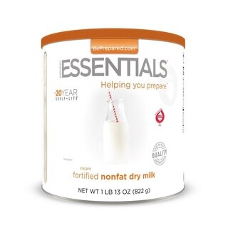 Emergency Essentials Instant Nonfat Fortified Dry Milk