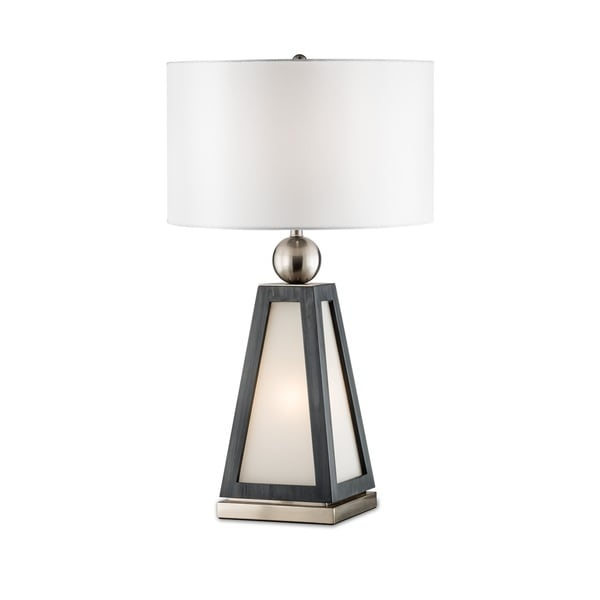 Paris Nickel Finished Steel Table Lamp