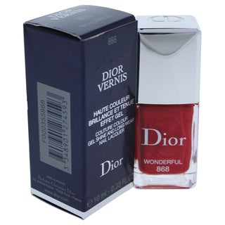 Dior Vernis Couture Colour Gel Shine and Long Wear Nail Lacquer 868 Wonderful