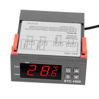 Digital STC-1000 Fish Tank Temperature Controller Thermostat With Sensor