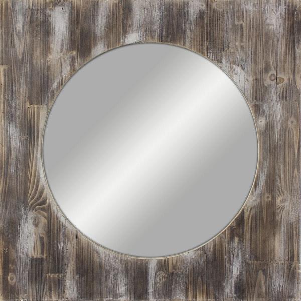 Large Round Led Mirror
